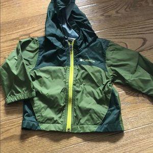 Like new 2T Columbia rain jacket